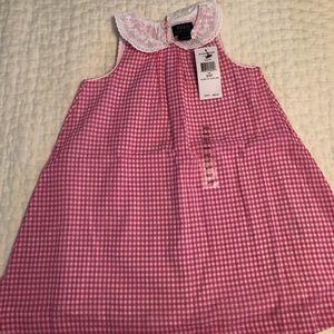 NWT Ralph Lauren 3T pink gingham dress